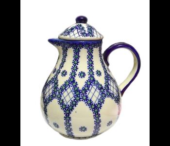Coffee / Tea Pot 1.5L Unique Design Polish Potters