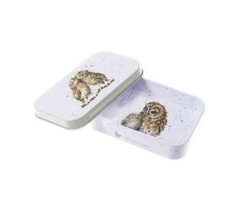 OWL MINI TIN - BIRDS OF A FEATHER