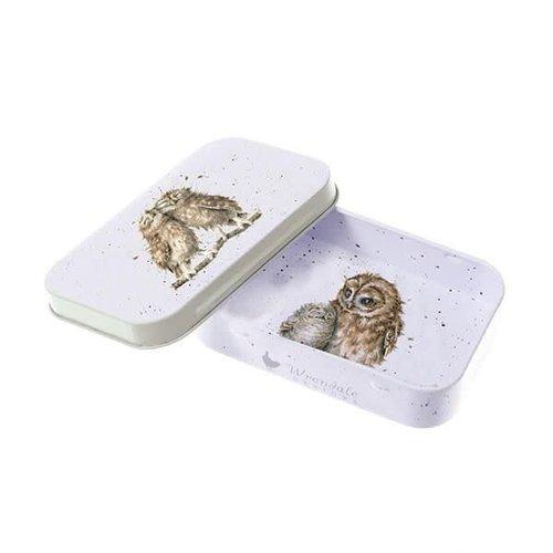 Wrendale OWL MINI TIN - BIRDS OF A FEATHER