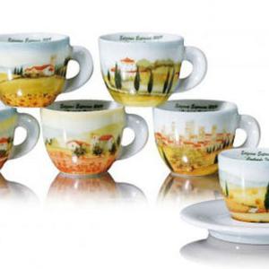 Ancap CONTRADA Italiane Espresso Cup and Saucer