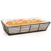 Baguette Basket with Canvas Lining