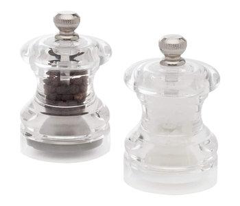 Button Salt & Pepper Mill Set
