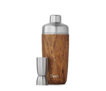 SWELL Bar Shaker Set Teakwood Look
