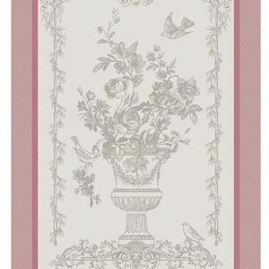 Garnier Thiebaut Garnier Thiebaut Tea Towel Bird Garden Sweet Pink