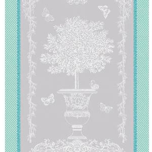 Garnier Thiebaut Garnier Thiebaut Tea Towel Butterfly Garden Vert Opaline