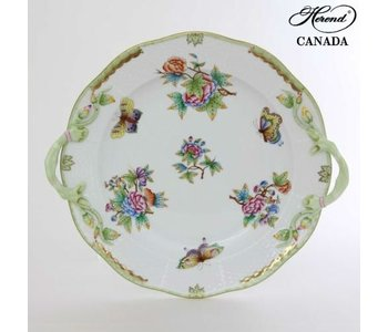 Cake Plate with Handle Queen Victoria