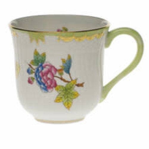 Herend Coffee / Milk Mug Rocaille Queen Victoria 330 ml