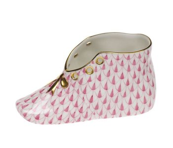 Baby Shoe Fishnet Pink