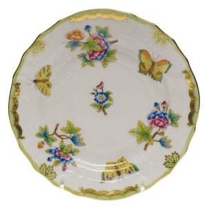 Herend Bread and Butter Plate Queen Victoria