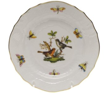 Bread and Butter Plate Rothschild Bird