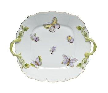 Cake Plate Royal Garden Butterfly
