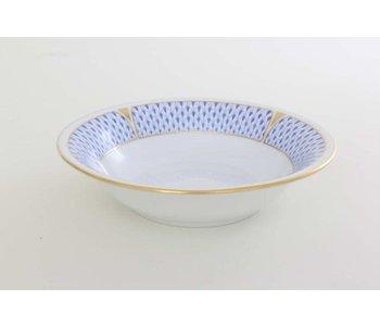 Cereal Bowl Art Deco Blue