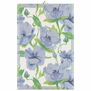 Ekelund Tea Towel Ekelund BLA BLOMSTER 40cm x 60 cm