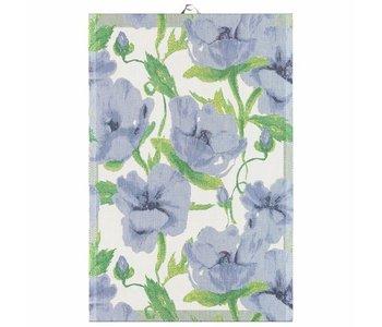 Tea Towel Ekelund BLA BLOMSTER 40cm x 60 cm