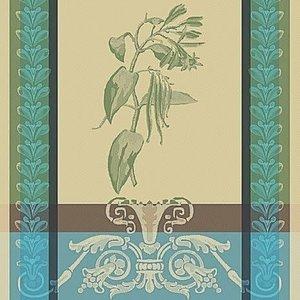 Garnier Thiebaut Garnier Thiebaut Tea Towel Greens Vanille Bourbon