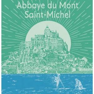 Garnier Thiebaut Garnier Thiebaut Tea Towel Abbaye du Mont St Michel