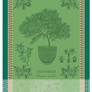 Garnier Thiebaut Garnier Thiebaut Tea Towel Amandier En Pot Vert