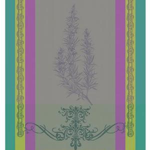 Garnier Thiebaut Garnier Thiebaut Tea Towel Brin De Romarin Orchidee