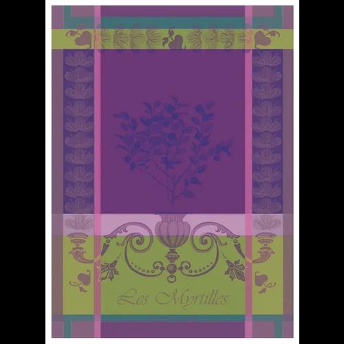 Garnier Thiebaut Garnier Thiebaut Tea Towel Myrtilles Violet