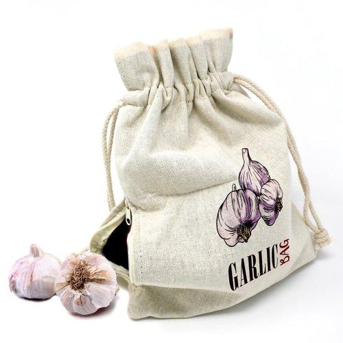 Danesco Garlic Storage Bag KEEP FRESH