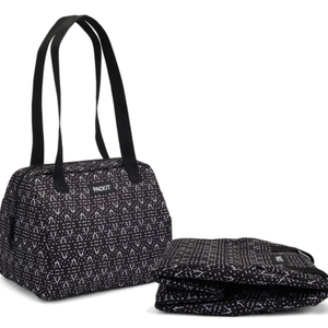 PackIt PACKIT Hampton Lunch Tote Black/White