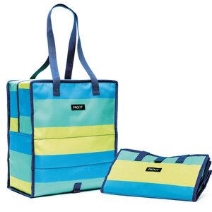 PackIt PACKIT Grocery Bag Fresh Stripe