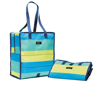 PACKIT Grocery Bag Fresh Stripe