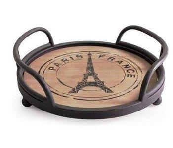 """Paris"" Round Serving Tray10"""