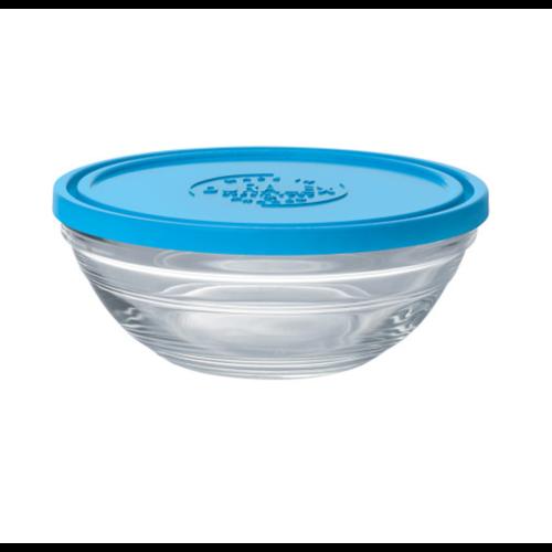 Duralex LYS Round Blue Lid 14cm