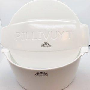 "PILLIVUYT PILLIVUYT ULYSSES Fancy Branded Lid & Deep Casserole 9.5""  3L Non Induction"