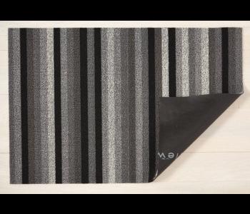 BIG MAT Even Stripe Shag MINERAL 36x60 inches