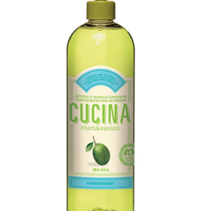 FRUIT & PASSION Cucina DISH DETERGENT CONCENTRATED  LIME ZEST & CYPRESS