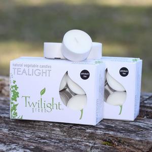 OCD TWILIGHT Natural Tealights - 12 pcs.
