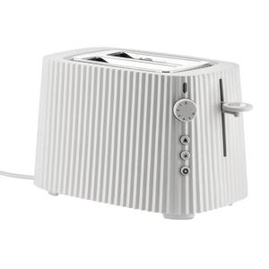 Alessi ALESSI Plisse Toaster 2-slice WHITE