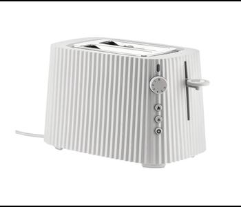 ALESSI Plisse Toaster 2-slice WHITE