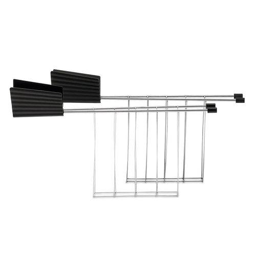 Alessi ALESSI Toaster Rack/ Set of 2 BLACK