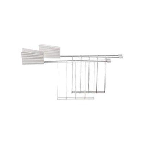 Alessi ALESSI Toaster Rack/ Set of 2 WHITE