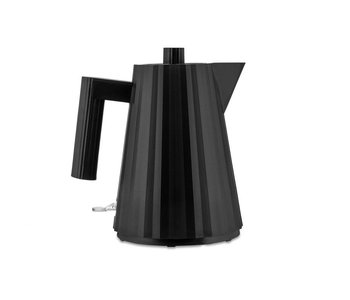 ALESSI Plisse Electric Kettle - BLACK - Small
