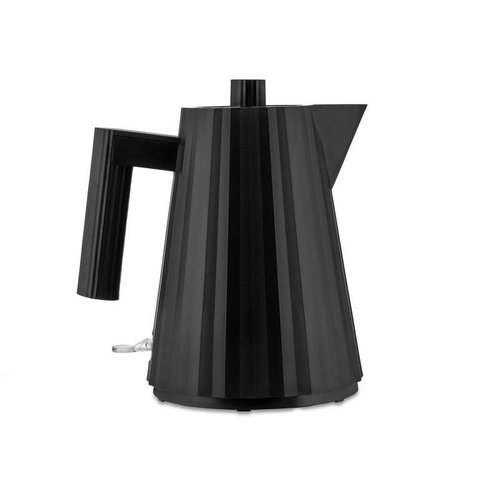 Alessi ALESSI Plisse Electric Kettle - BLACK - Small