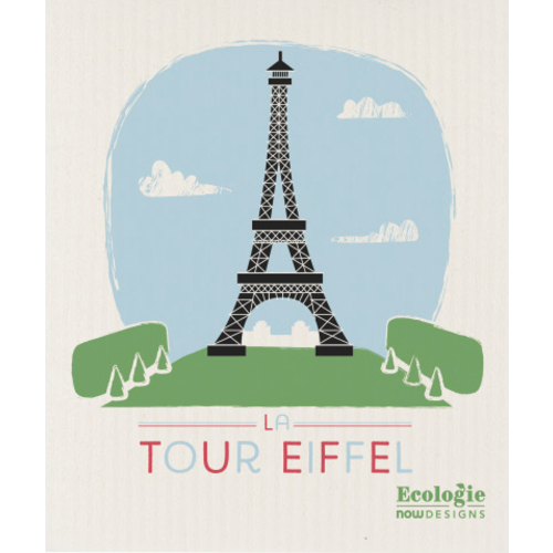 Swedish Cloth Swedish Cloth La Tour Eiffel Ecologie