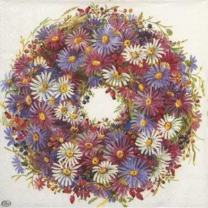 OCD Napkin Lunch Paper Couronne De Fleurs
