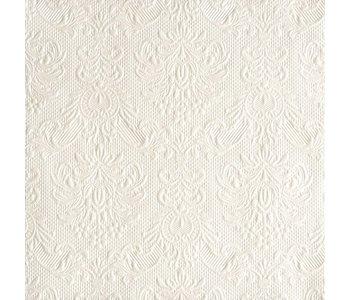 Napkin Dinner Paper Elegant White Pearl