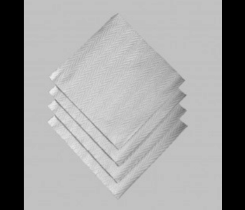 Napkin Dinner Paper Moments Woven Silver