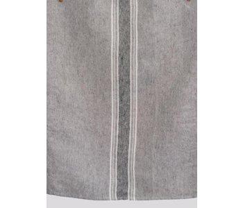 "Tablecloth Casa Charcola with White & Black Rectangular 52""  x 90"""