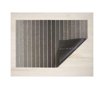 Big Mat Block Stripe Shag TAUPE - 36x60 inches