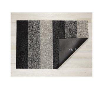 Big Mat Marbled Stripe Shag SALT & PEPPER 36x60 inches