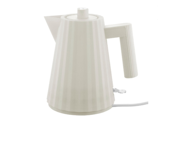ALESSI  Plisse Electric Kettle - WHITE - Small