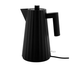 Alessi ALESSI Plisse Electric Kettle - Black - Large