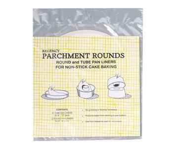 """Parchment Pre-Cut 10"""" Rounds PaperChef"""