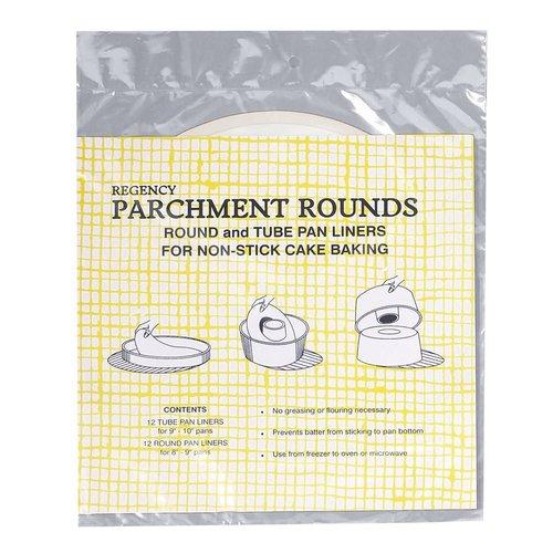 """PaperChef Parchment Pre-Cut 10"""" Rounds PaperChef"""